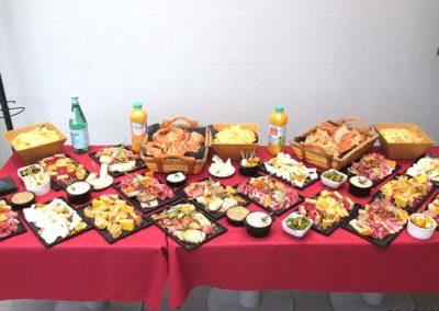Services Obseques - salle de convivialité - buffet