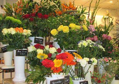 Pompes funébres Sainte Jamme sur Sarthe - Presentation fleurs